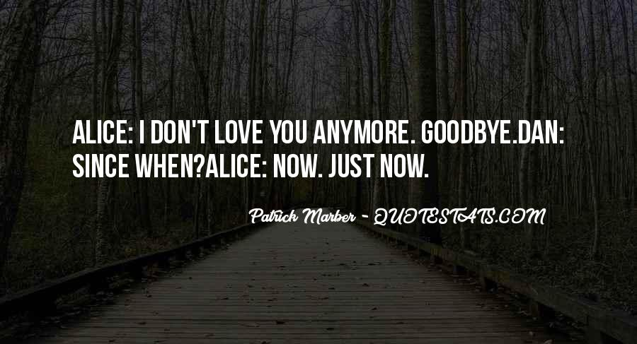 Goodbye For Now Love Quotes #98592