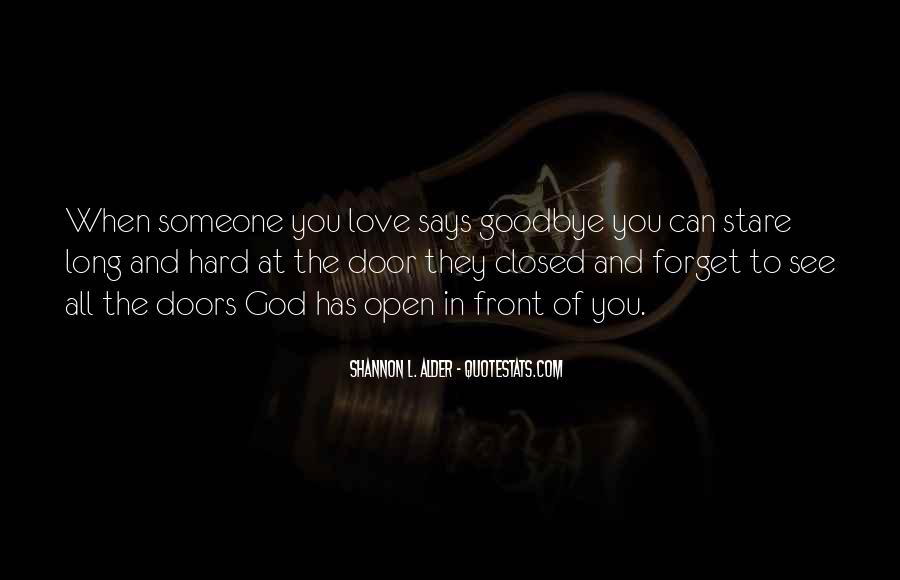 Goodbye To All Quotes #1378357