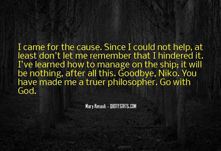 Goodbye To All Quotes #1584970