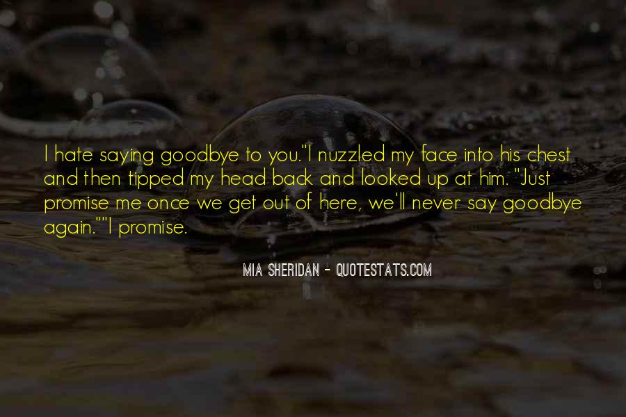 Goodbye To Him Quotes #1162990