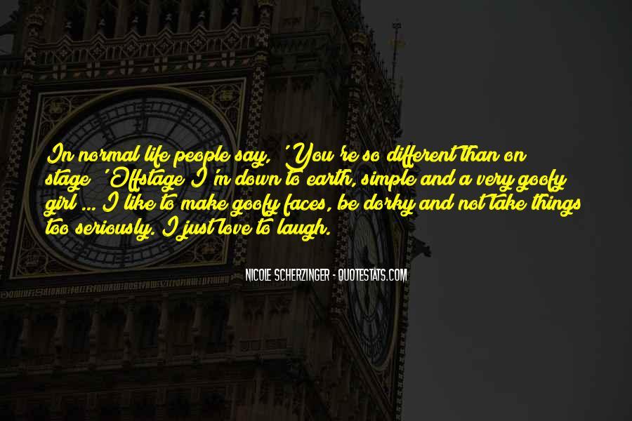 Goofy Girl Quotes #452527