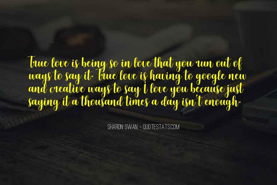 Google True Love Quotes #1263948