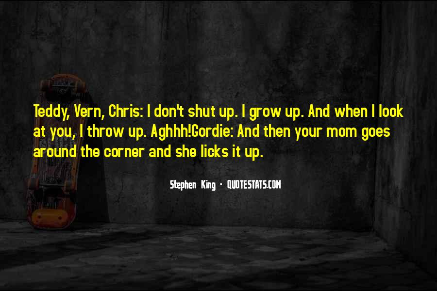 Gordie And Chris Quotes #1839327