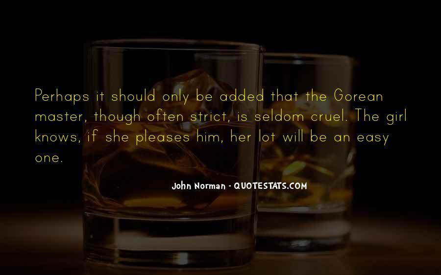Gorean Quotes #490121