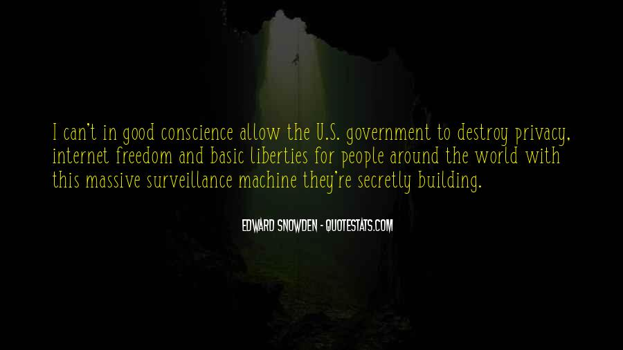 Government And Privacy Quotes #1033424