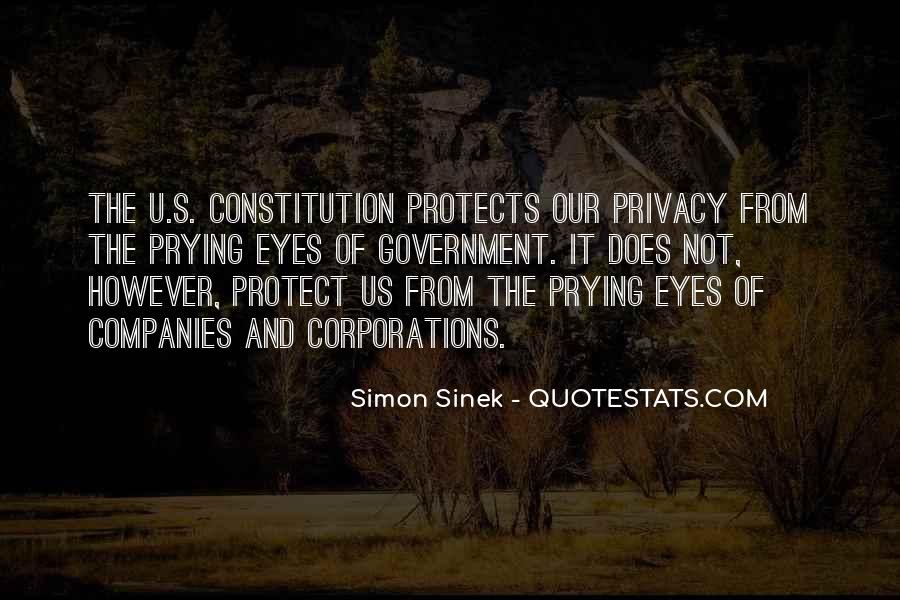 Government And Privacy Quotes #1449289