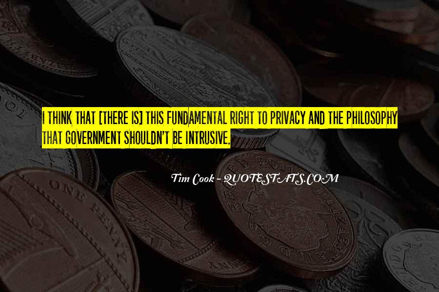 Government And Privacy Quotes #1782786