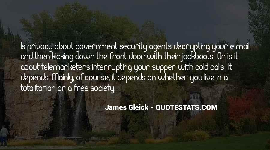 Government And Privacy Quotes #718537