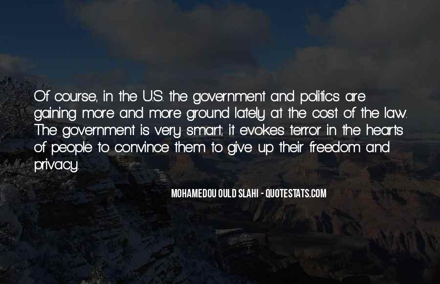 Government And Privacy Quotes #775707