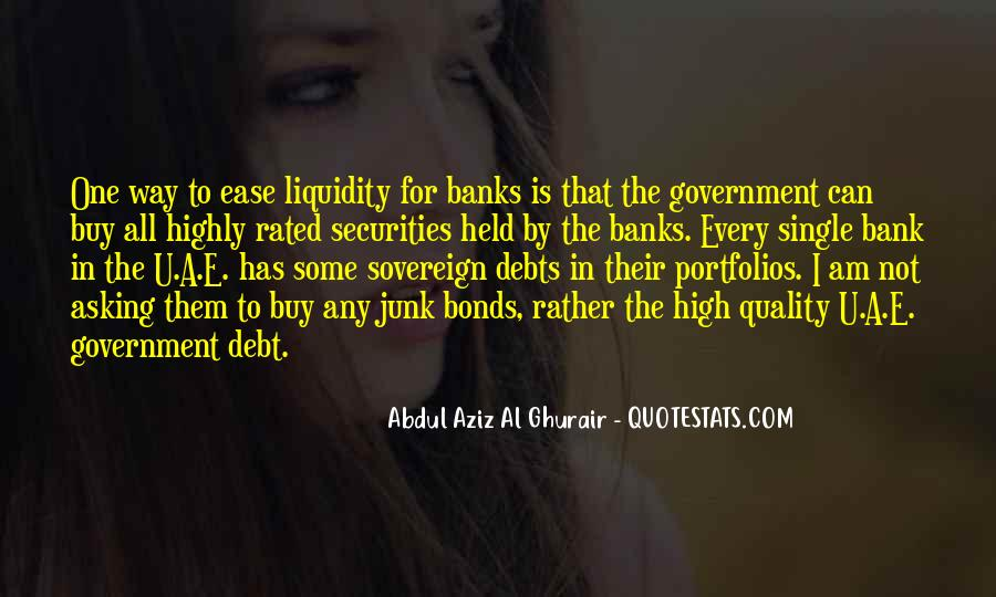 Government Securities Quotes #1075316