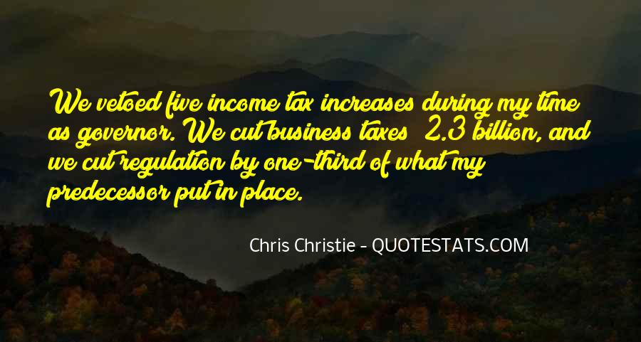Governor Christie Quotes #1089780