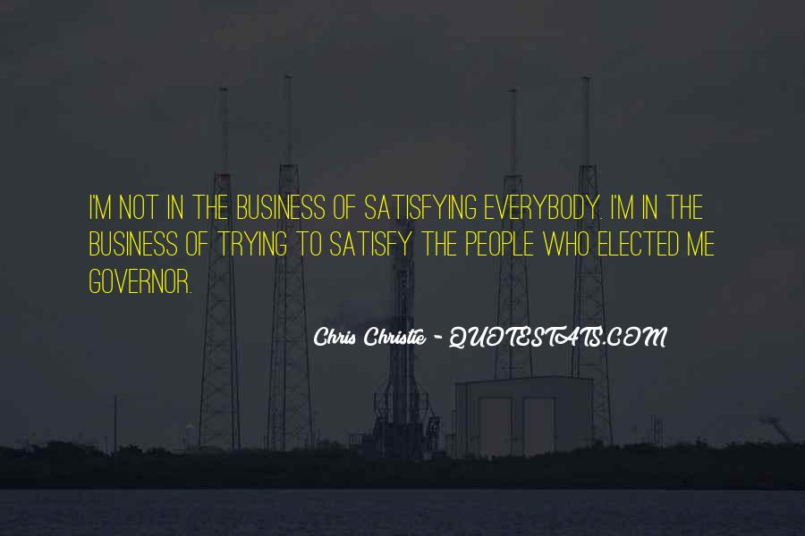 Governor Christie Quotes #1650806