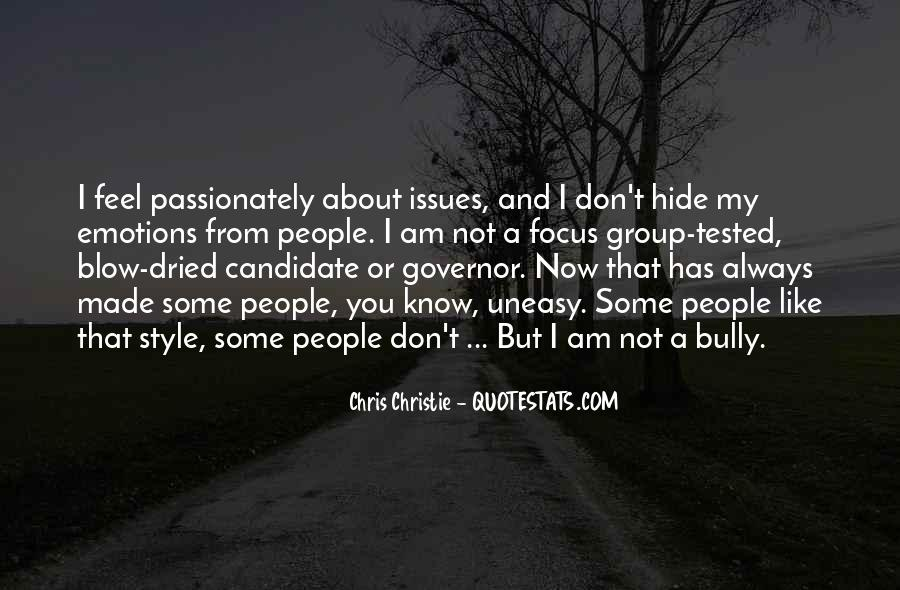 Governor Christie Quotes #165987