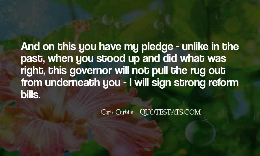 Governor Christie Quotes #188149
