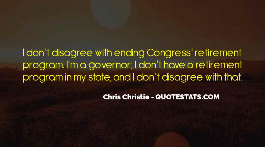 Governor Christie Quotes #294086