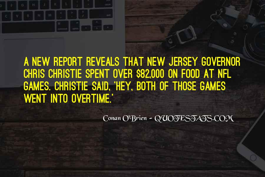 Governor Christie Quotes #411258