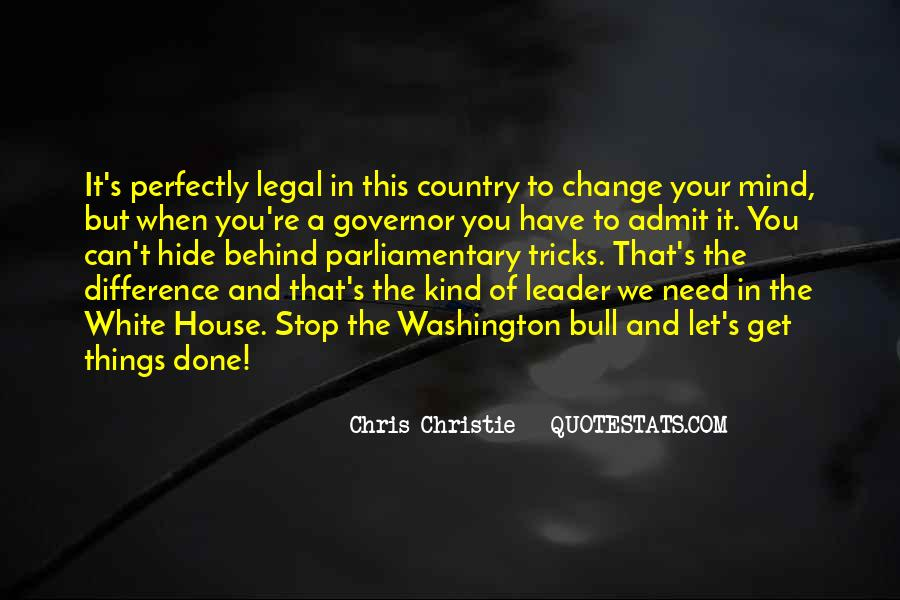 Governor Christie Quotes #684900