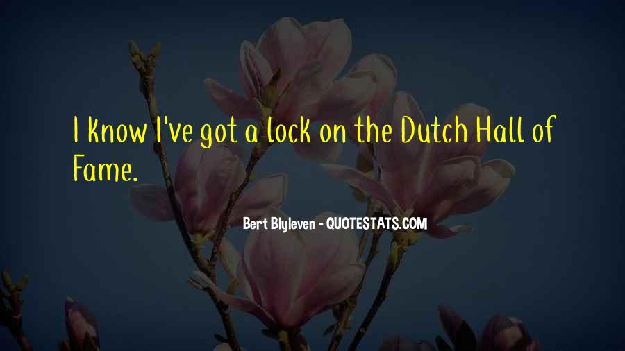 Quotes About The Dutch #151402