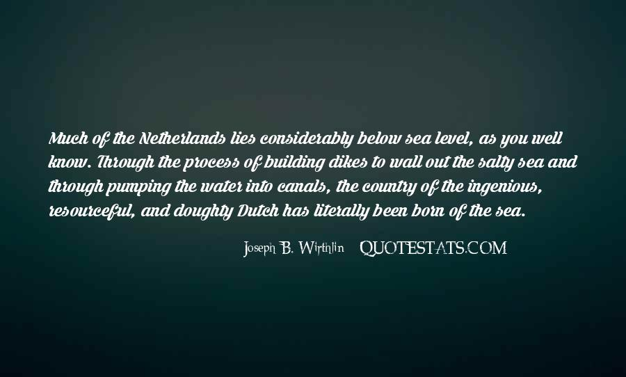Quotes About The Dutch #219089