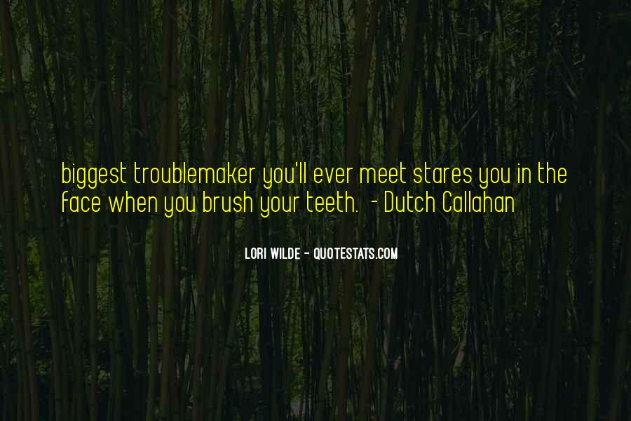 Quotes About The Dutch #827274