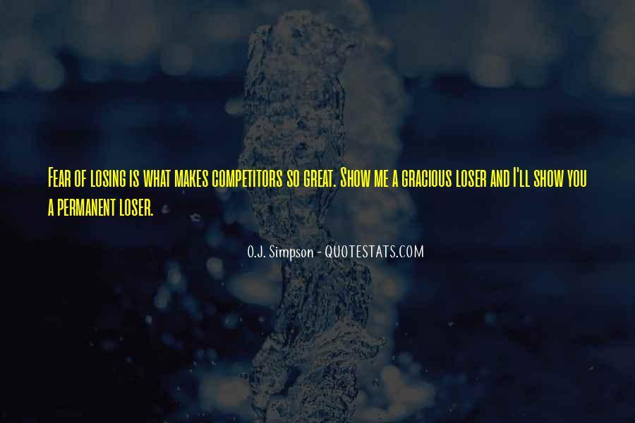Gracious Losing Quotes #94048