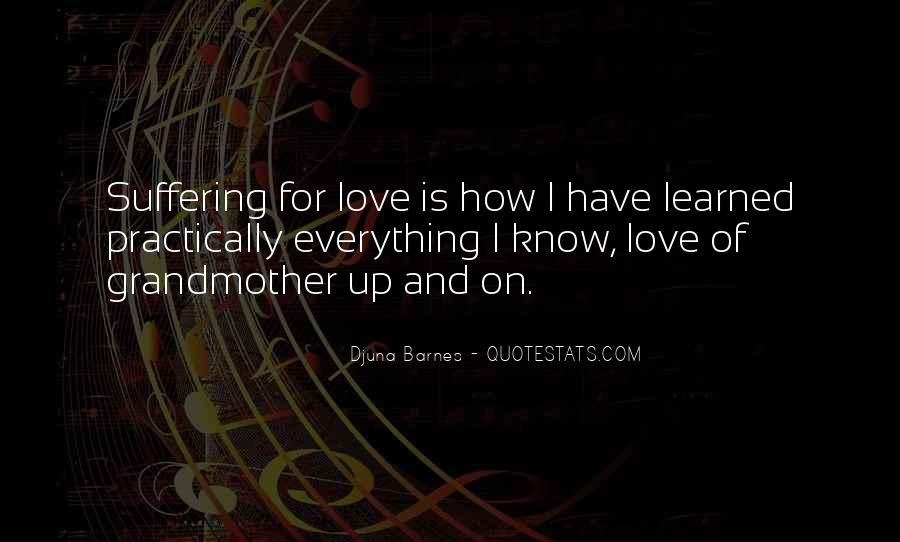 Grandmother Love Quotes #1618790