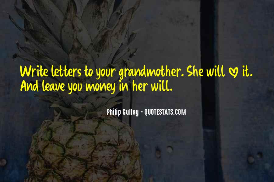 Grandmother Love Quotes #254839