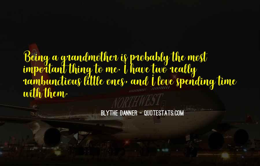 Grandmother Love Quotes #472759