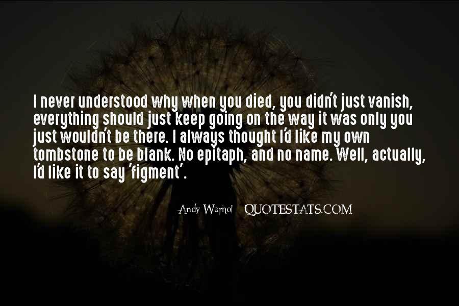 Grave Tombstone Quotes #332587