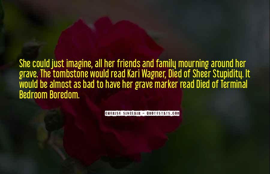 Grave Tombstone Quotes #634508