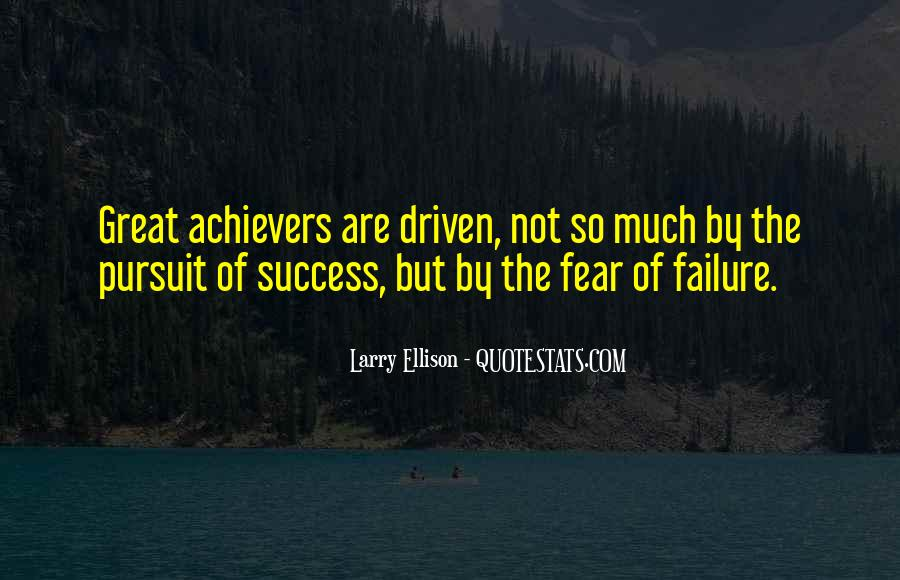 Great Achievers Inspirational Quotes #1583827