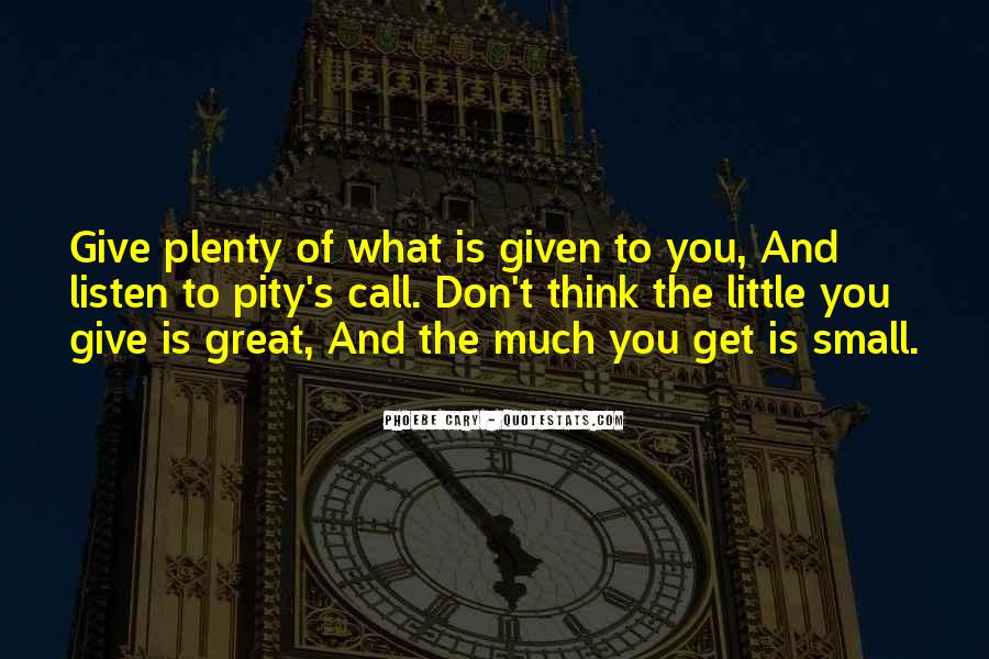 Great And Small Quotes #120843