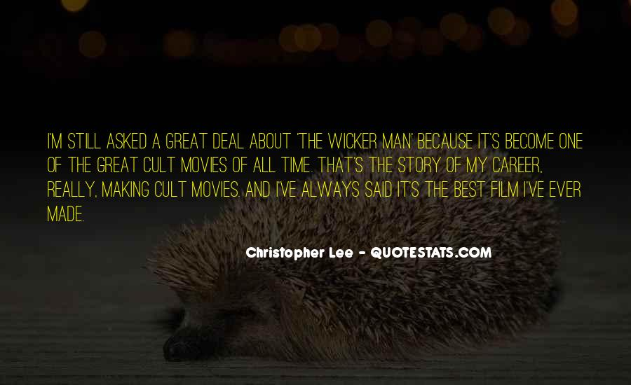 Great Best Man Quotes #787797