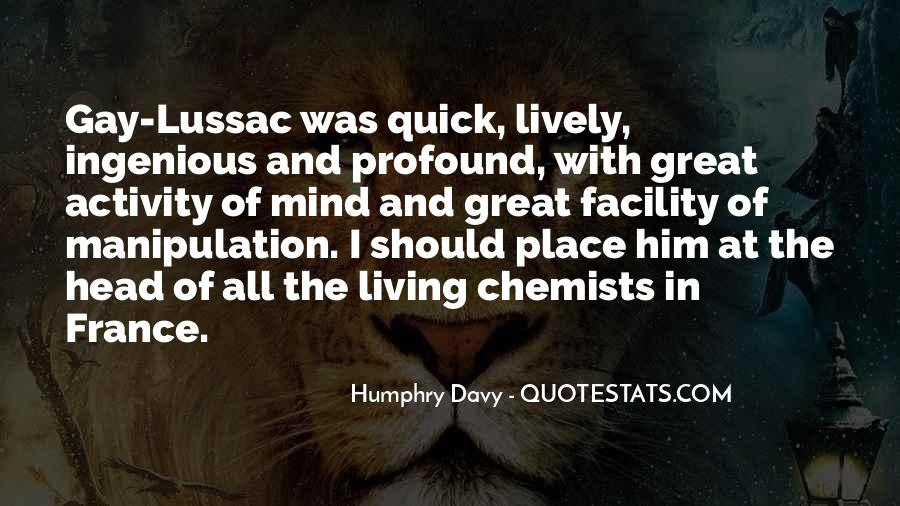 Great Chemists Quotes #1075988