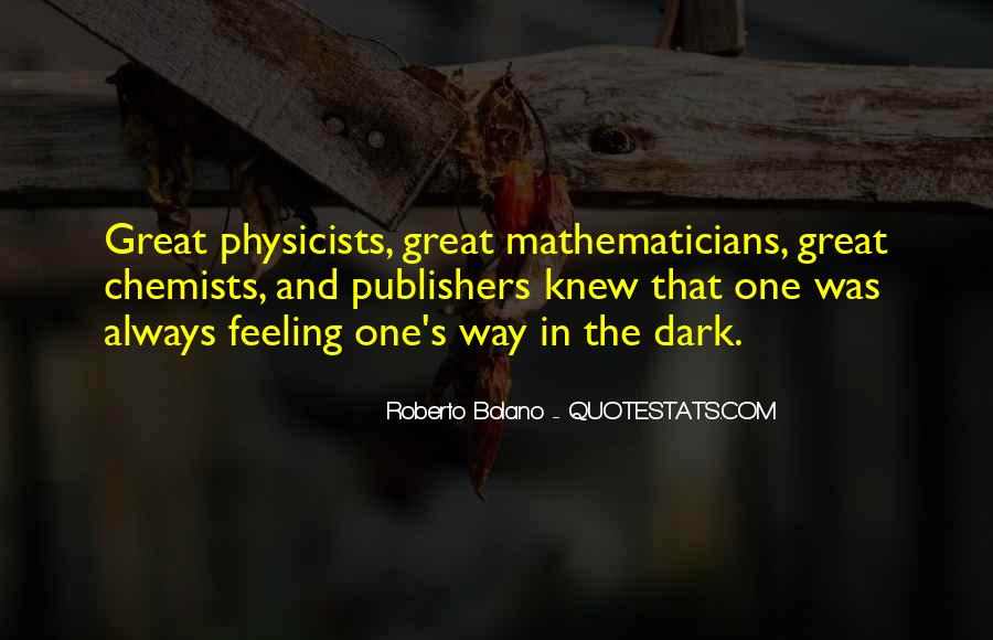 Great Chemists Quotes #971647