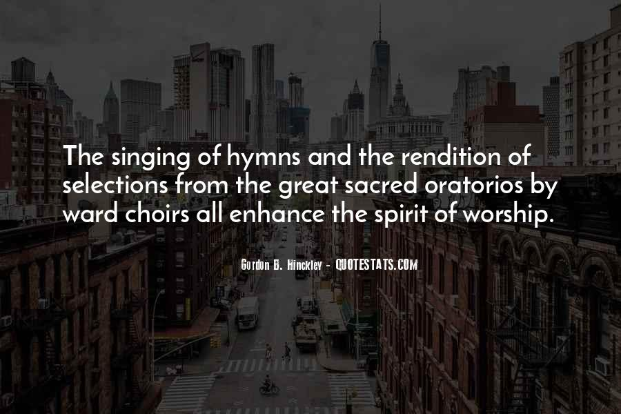 Great Choir Quotes #1123783