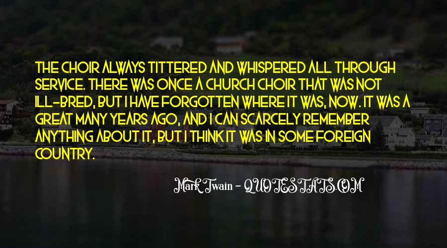 Great Choir Quotes #1316434