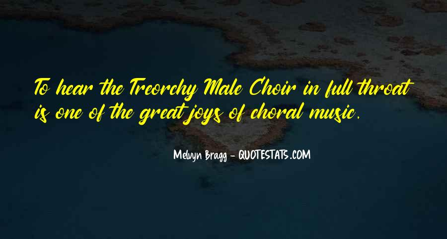 Great Choir Quotes #903374