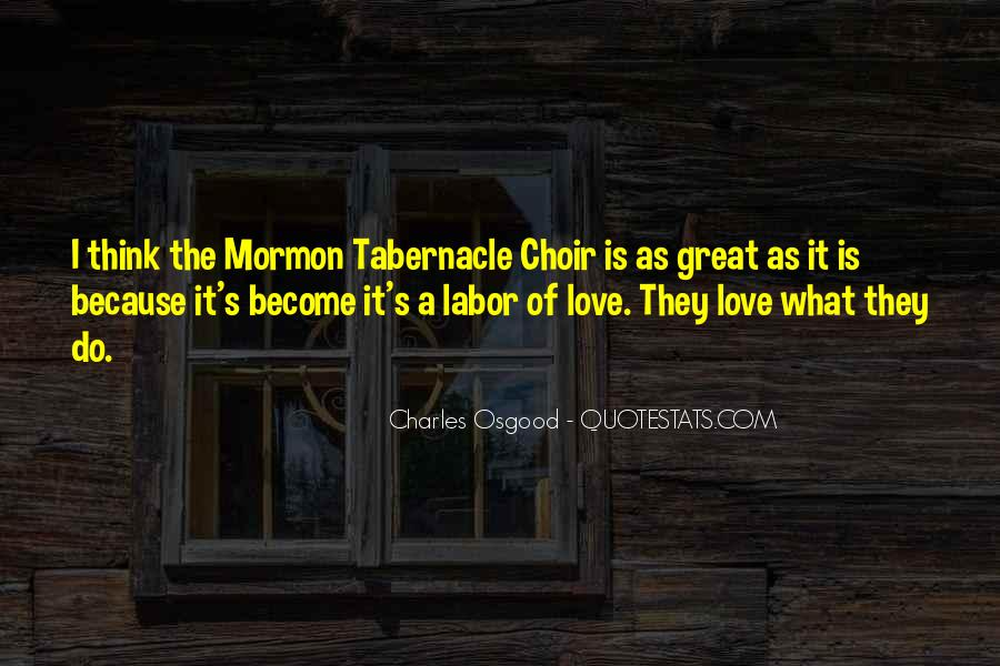 Great Choir Quotes #975488
