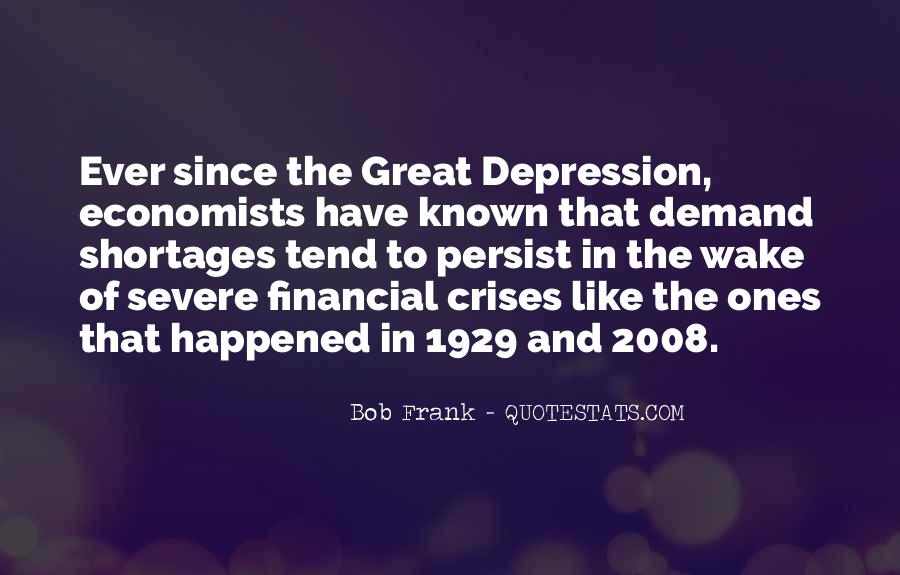 Great Depression 1929 Quotes #130232