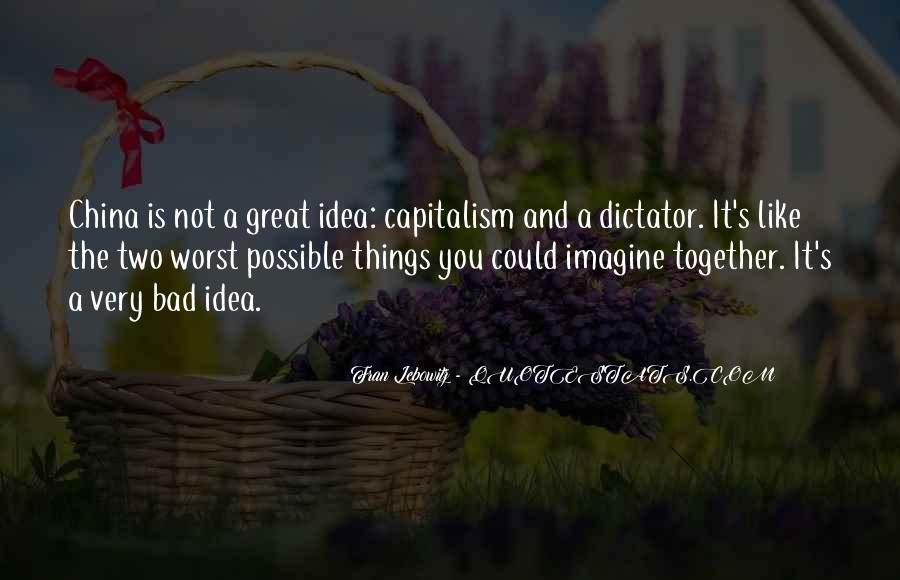 Great Dictator Quotes #1375655