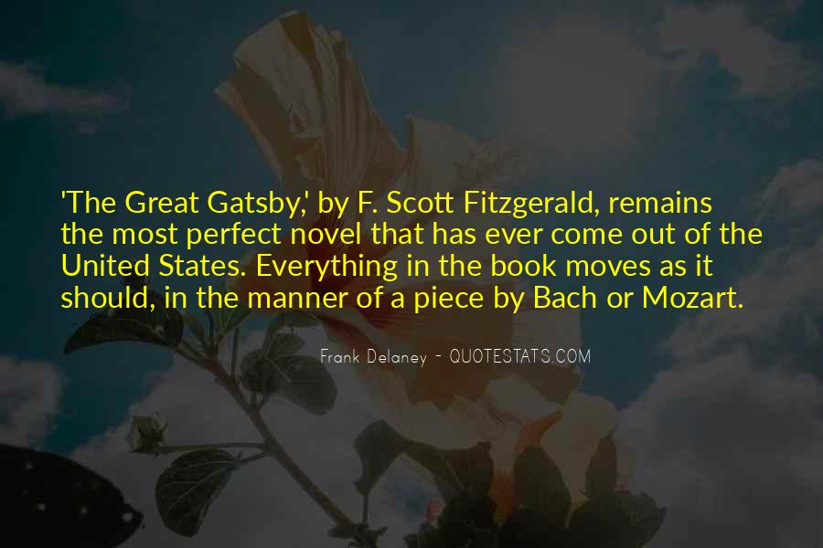 Great Gatsby Novel Quotes #105311
