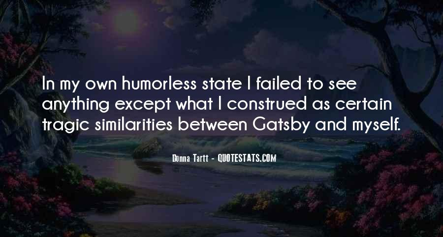 Great Gatsby Novel Quotes #1124952