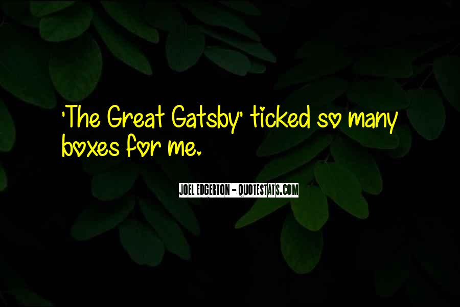 Great Gatsby Novel Quotes #132055