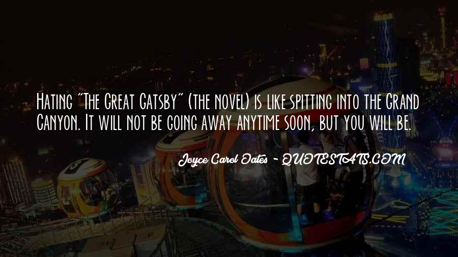 Great Gatsby Novel Quotes #1493694