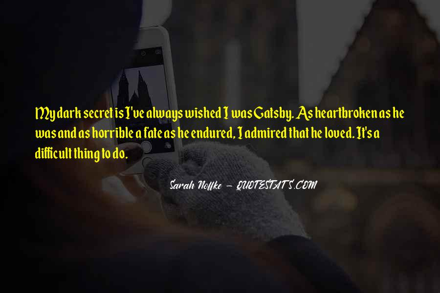 Great Gatsby Novel Quotes #1561991