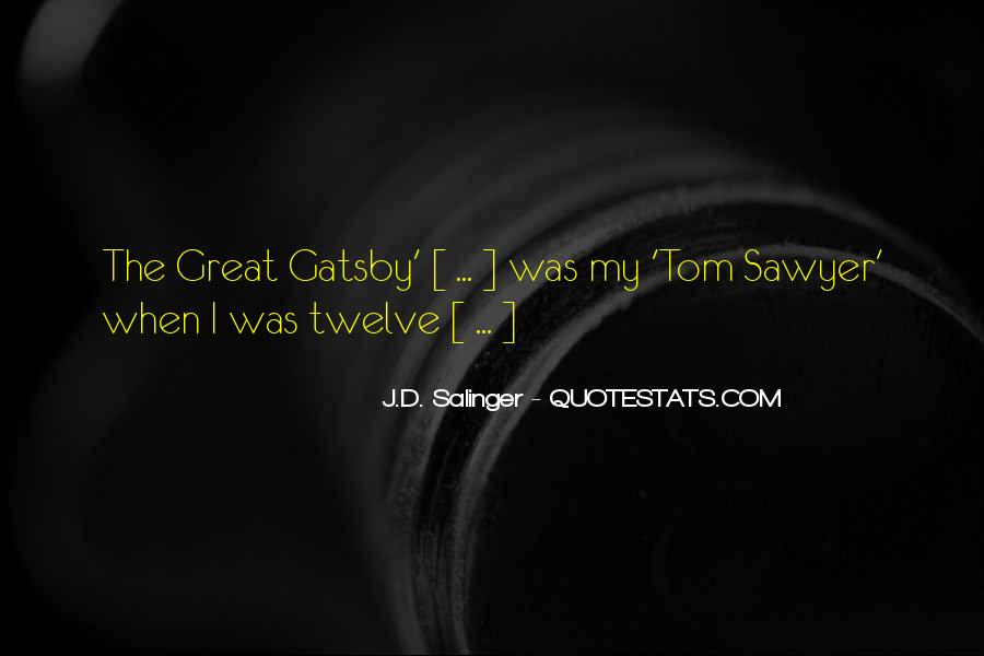 Great Gatsby Novel Quotes #1656233