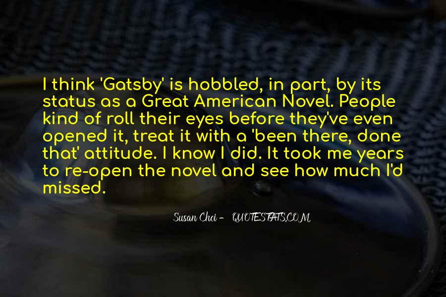 Great Gatsby Novel Quotes #417593