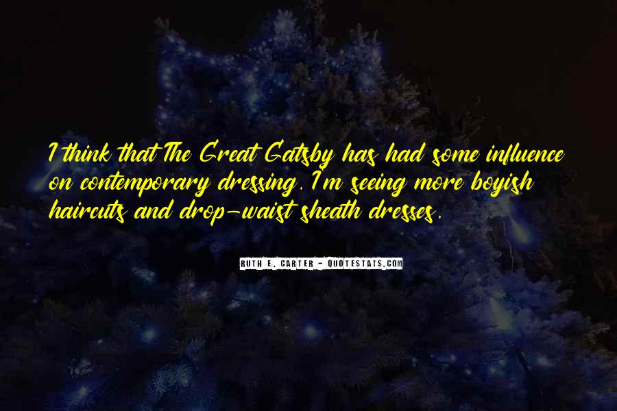 Great Gatsby Novel Quotes #504579