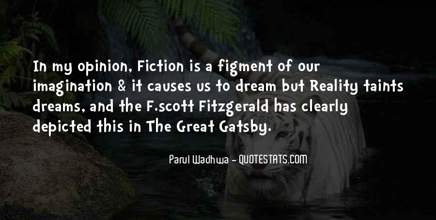 Great Gatsby Novel Quotes #579922